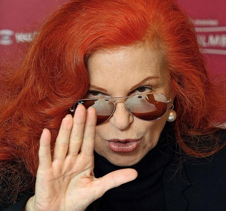 Markenzeichen rote Haare: Milva (2008)  | Foto: Soeren Stache (dpa)
