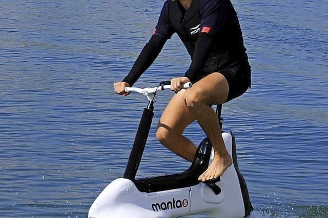 Ein Fahrrad fürs Wasser