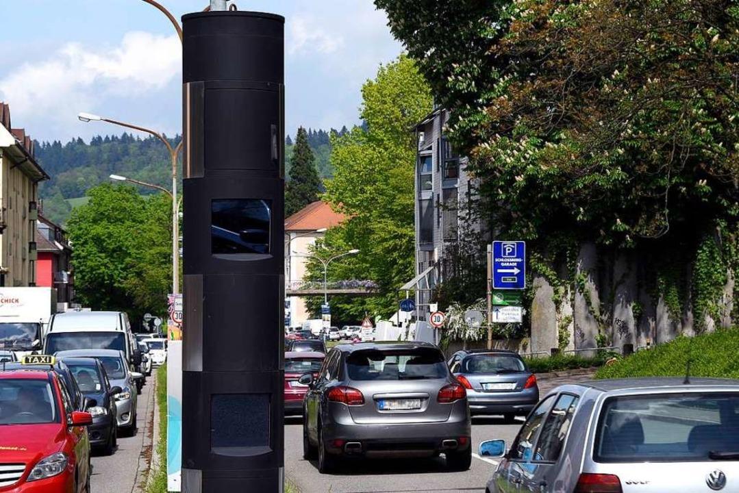 Viele Autofahrer und Autofahrerinnen t...ssberg in die Radarfalle (Archivbild).    Foto: Thomas Kunz