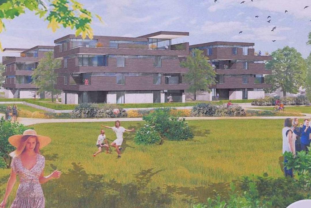 Stadt und Wohnbau starten ein neues Ge...men  beträgt 10 bis 12 Millionen Euro.  | Foto: Ingrid Böhm-Jacob