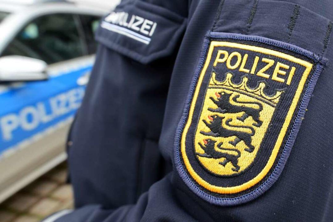 Die Polizei am Hochrhein beschäftigt s...te in Zusammenhang steht (Symbolbild).  | Foto: Patrick Seeger (dpa)