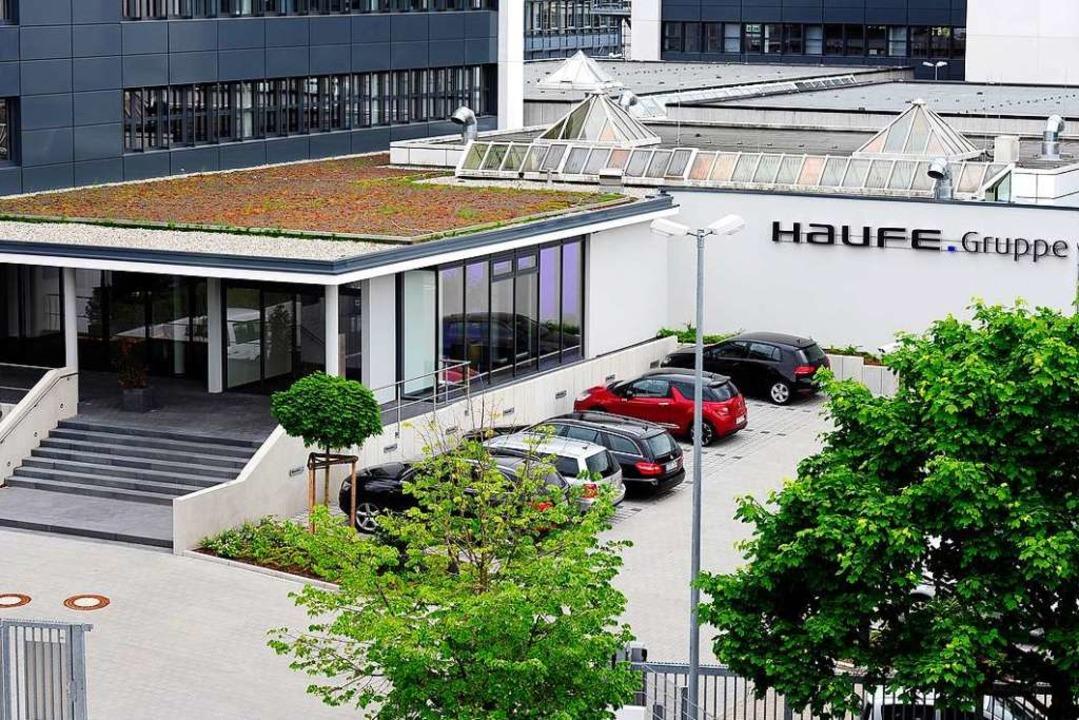 Das Gebäude an der Munzinger Straße im Gewerbepark Haid.  | Foto: Thomas Kunz