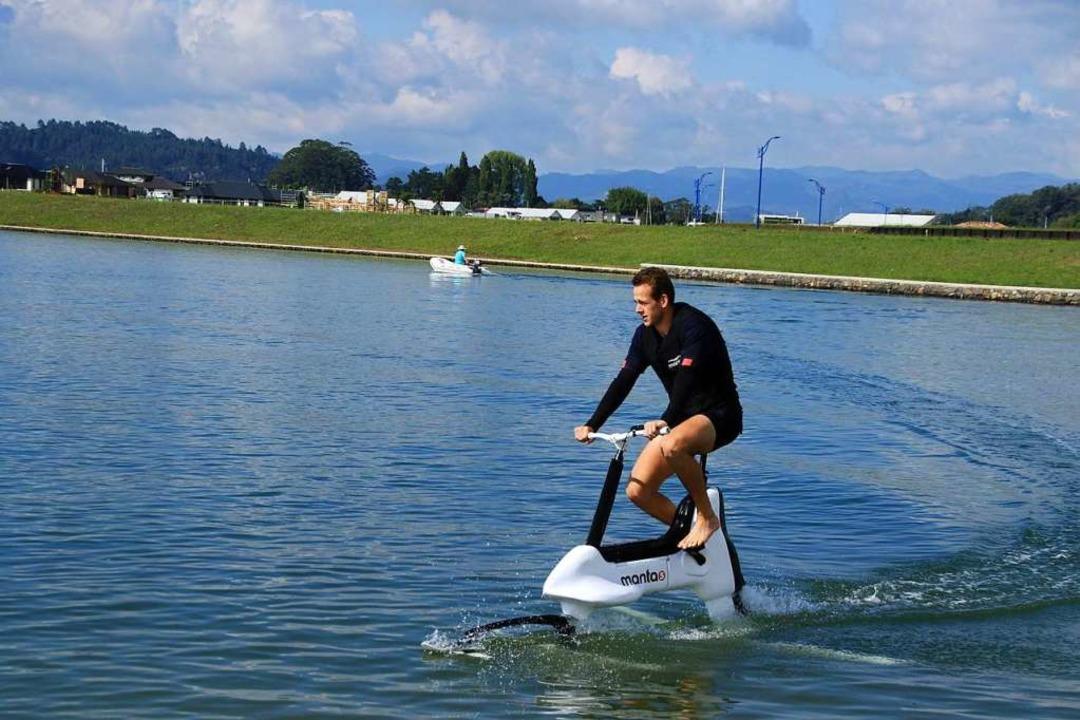 Wasser-E-Bike    Foto: Przybilla