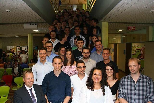 45 Schüler haben in Bad Säckingen das Fachabitur geschafft