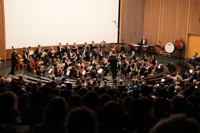 Am Freitag spielt das KHG-Studenten-Sinfonieorchester im Audimax der Uni Freiburg