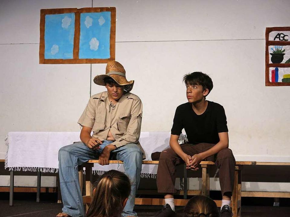 Huckleberry Finn und Tom Sawyer  | Foto: Georg Voß