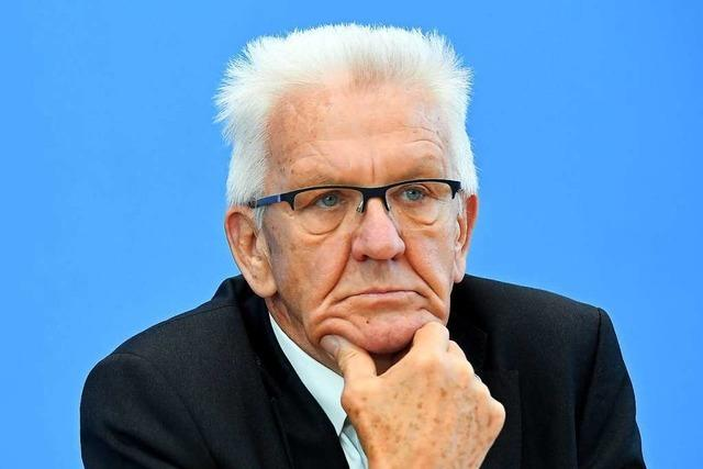 Winfried Kretschmann leidet mit dem VfB Hollywood
