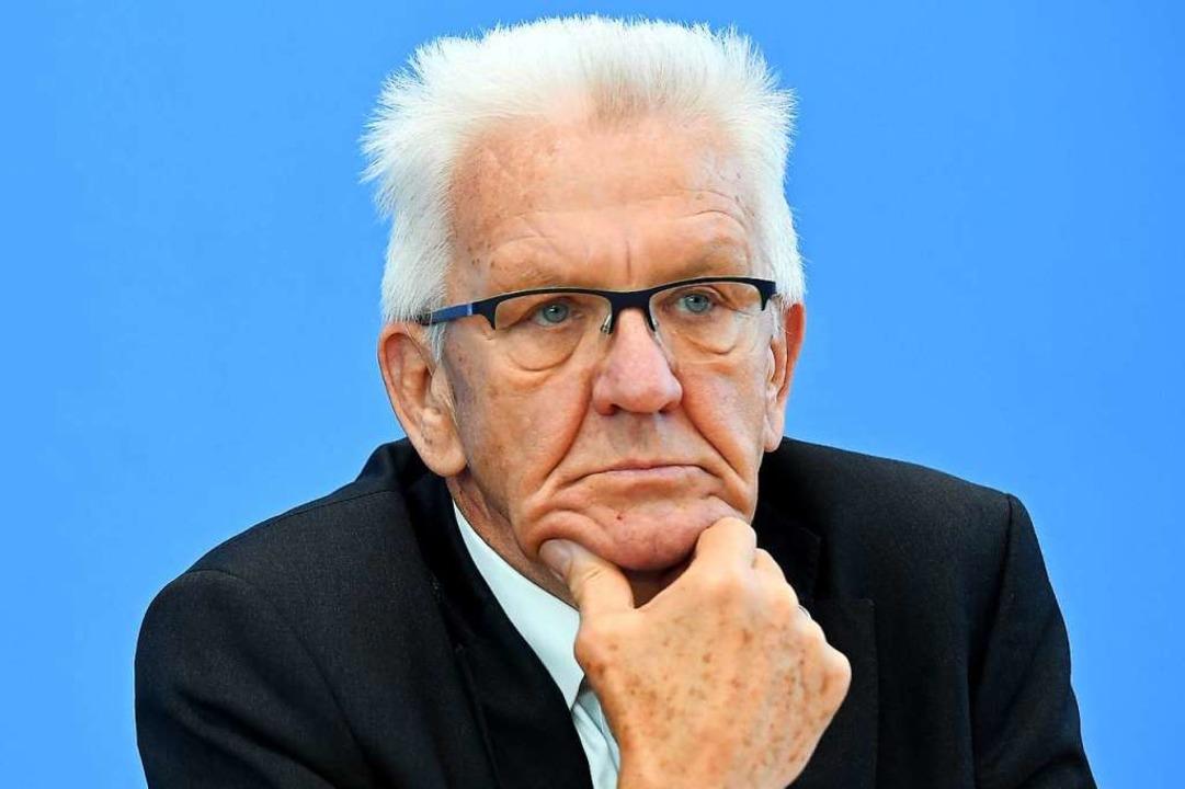 Wenn es nach Kretschmann geht, wird ein Exil-Schwabe neuer VfB-Boss.  | Foto: Britta Pedersen (dpa)
