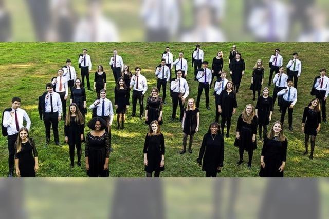 Jugendkonzertchor der Chorakademie Dortmund in Villingen-Schwenningen