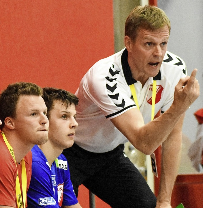 Martin Heuberger, hier als Coach der S... Junioren-Nationalteam im WM-Turnier.   | Foto: Sebastian Koehli