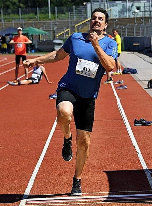 Daniel Kaiser bei der  14. Deutschen Z...en Sportler aus Grimmelshofen  Gold.    | Foto: Deutsche Zollsporthilfe