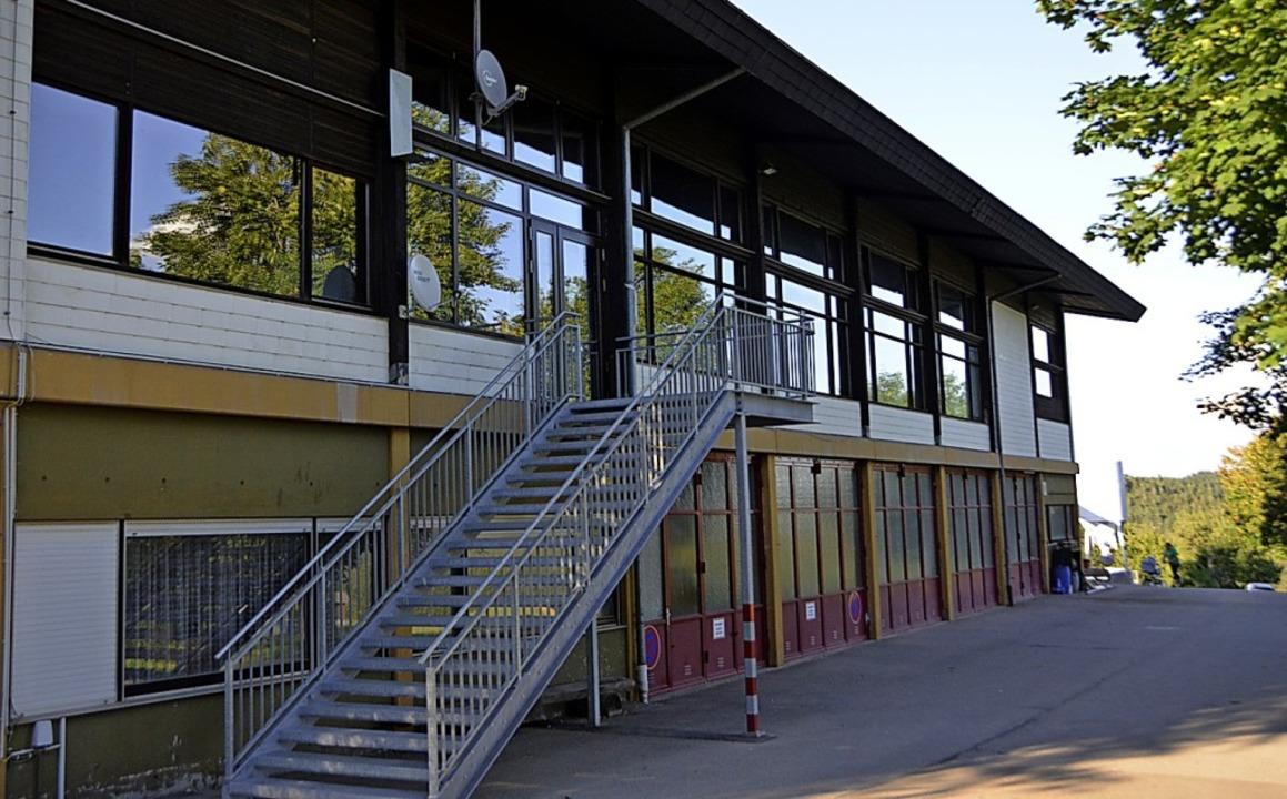 Die Sanierung der Hotzenwaldhalle ist ...ewählte Gemeinderat beschäftigen muss.  | Foto: Krug