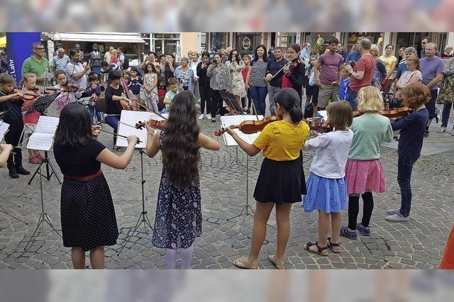 Musikschultag in Lahr