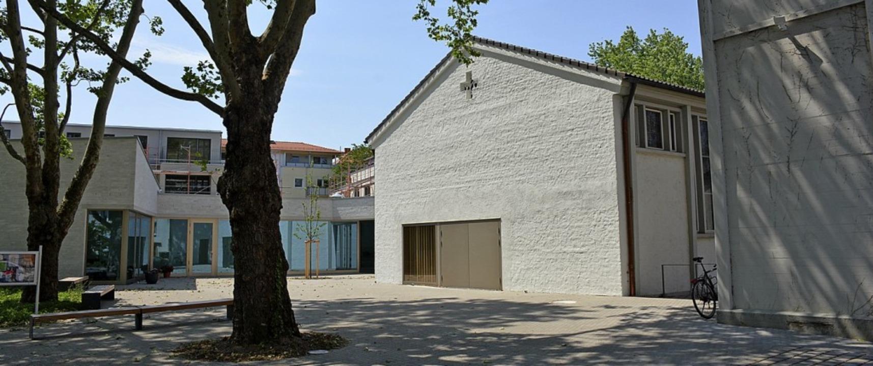 Das neue Zentrum der Johannes-Gemeinde   | Foto: Hannes Lauber