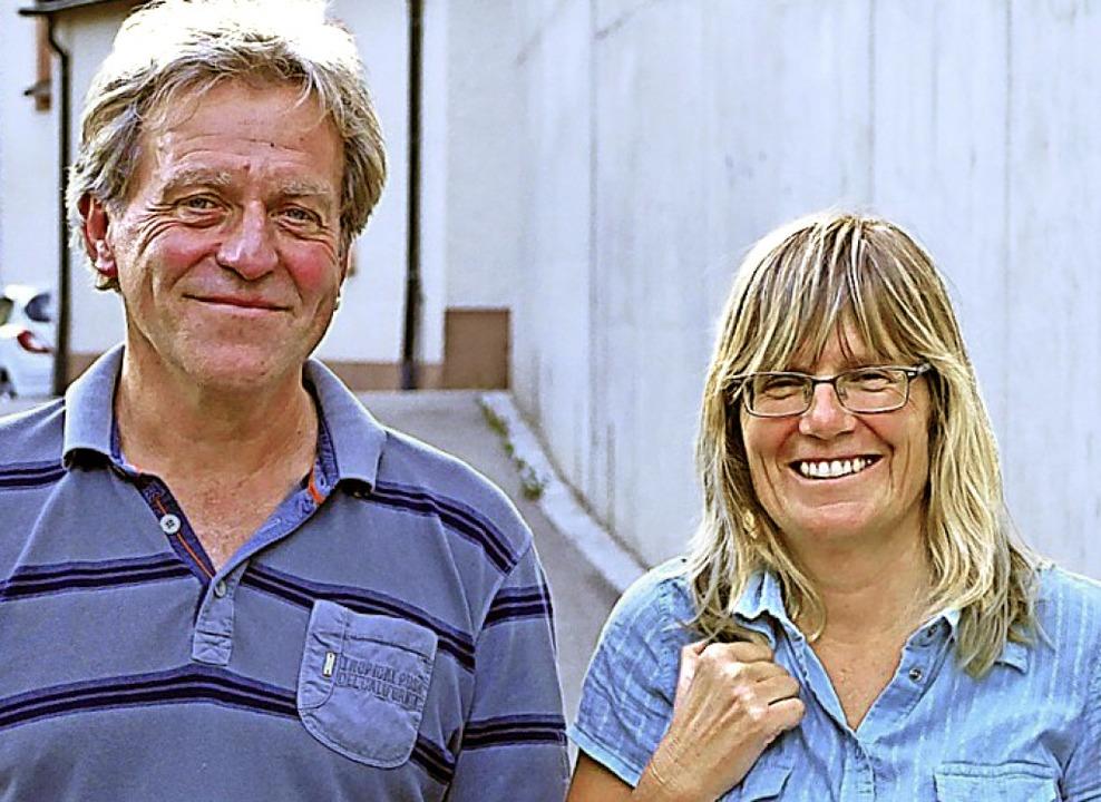Reinhard Zahn und Doris Leymeier von der Caritas   | Foto: Sattelberger