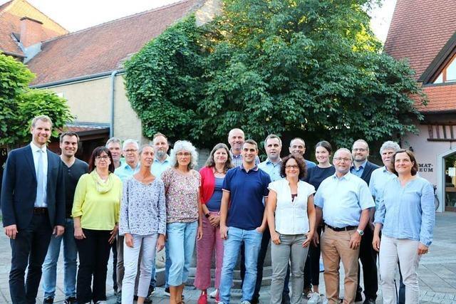 Der neue Ihringer Gemeinderat nimmt seine Arbeit auf