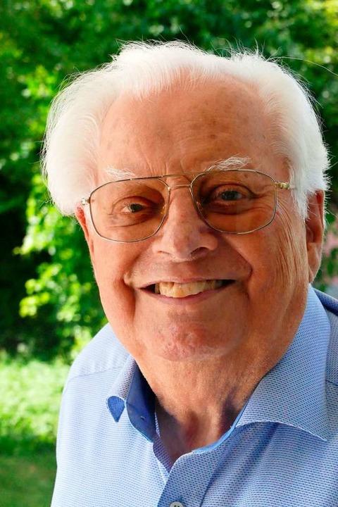 Erhard Richter ist gestorben.  | Foto: Ralf H. Dorweiler