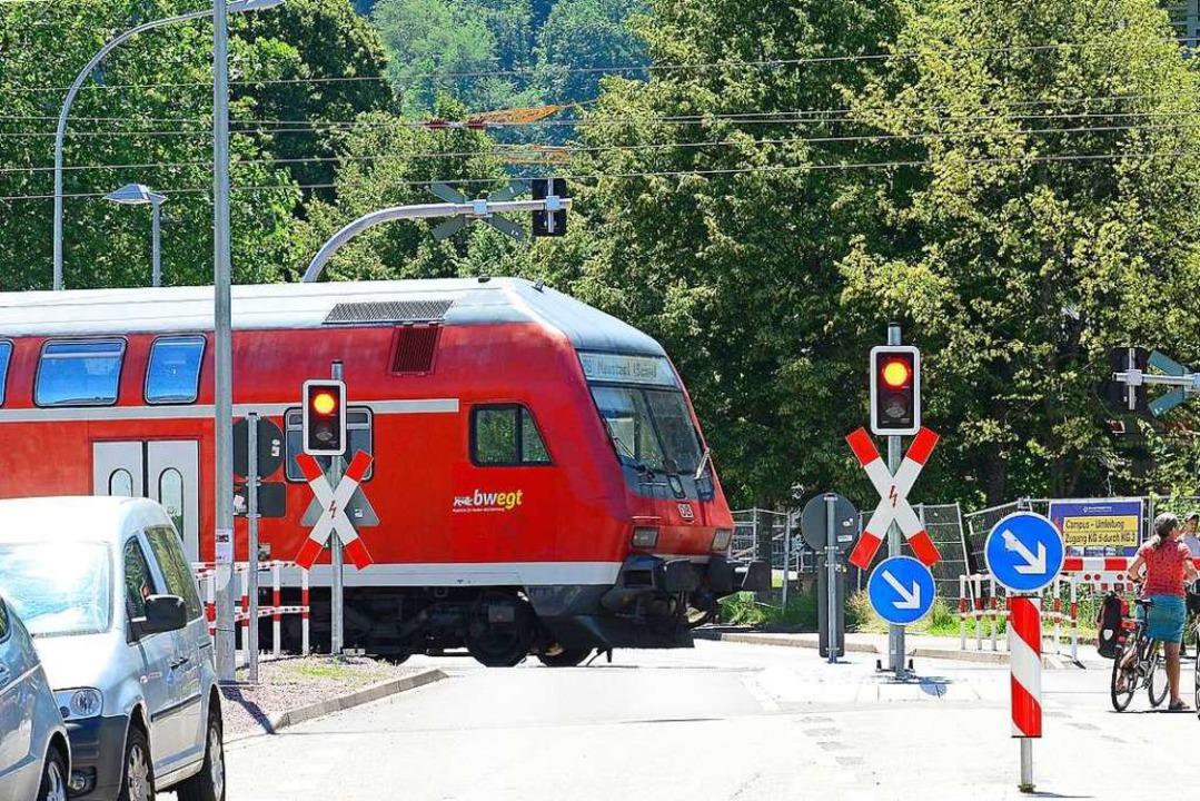 Eine BZ-Leserin berichtete  von &#8222...er nicht klimatisierten Höllentalbahn.  | Foto: Ingo Schneider