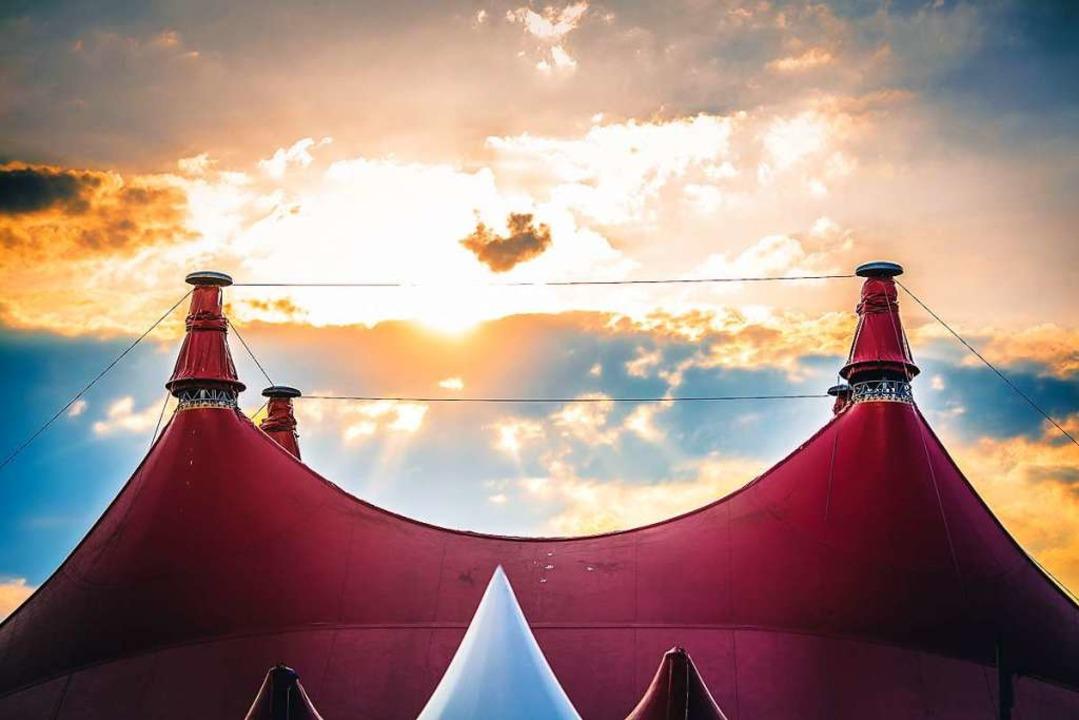 Das ZMF-Symbol schlechthin: Das Zirkuszelt  | Foto: Janos Ruf