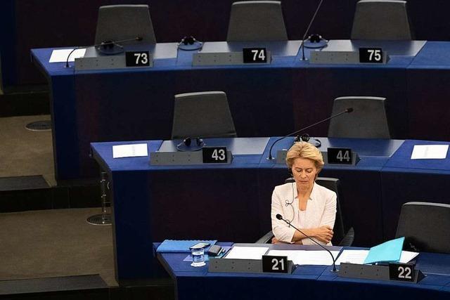 Die SPD hat sich bei der Wahl von der Leyens heuchlerisch verhalten