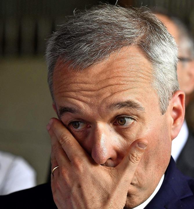 Hummer auf Staatskosten? François de Rugy  | Foto: GEORGES GOBET (AFP)