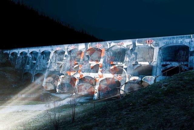 Das Reservoir-Festival bringt die Linachtalsperre in Vöhrenbach zum Leuchten