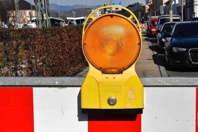 Gehweg der Höllentalbahnbrücke in Freiburg ist am Donnerstag für sechs Stunden gesperrt