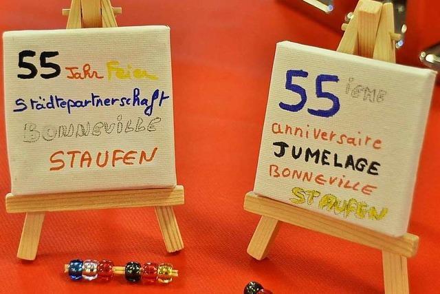 Fotos: Staufener Besuch in der französischen Partnerstadt Bonneville