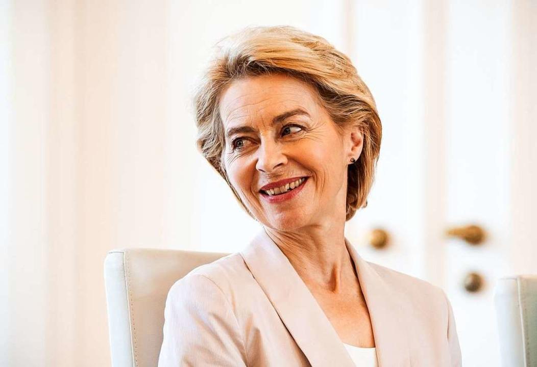 Ursula von der Leyen    Foto: Michael Kappeler (dpa)