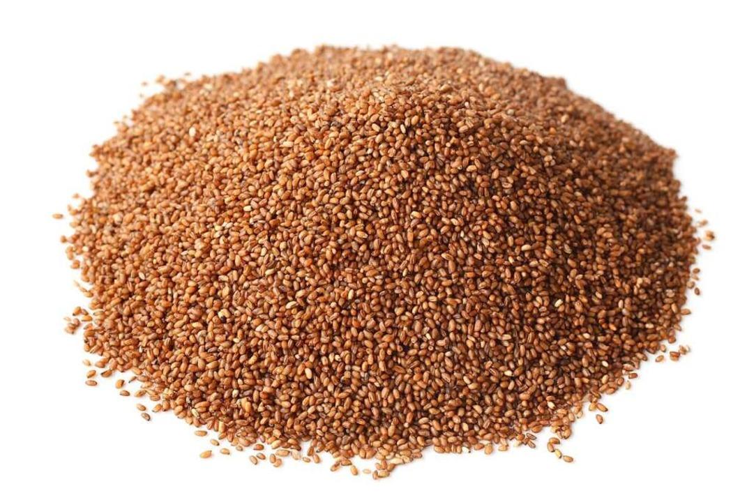 Teff ist das kleinste Getreide der Welt und hat ein mild-nussiges Aroma.  | Foto: Popova Olga