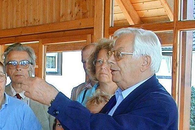 Die Trauer um Erhard Richter, Ehrenbürger von Grenzach-Wyhlen, ist groß
