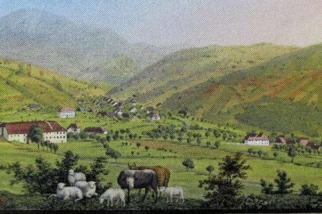 Einst eine grüne Wiese mitten im Tal