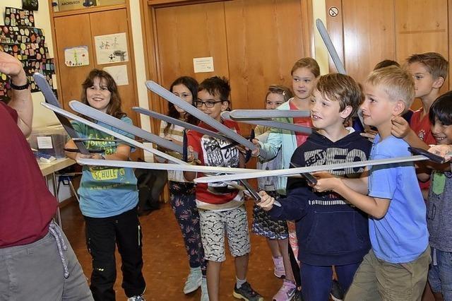 Grundschule verwandelt sich in Manege