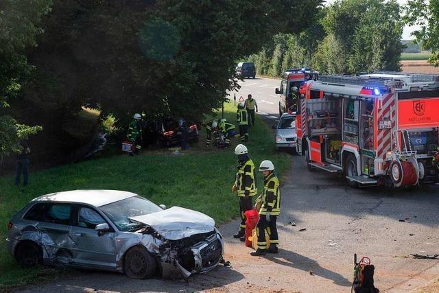 Drei Schwerverletzte bei Unfall in Müllheim