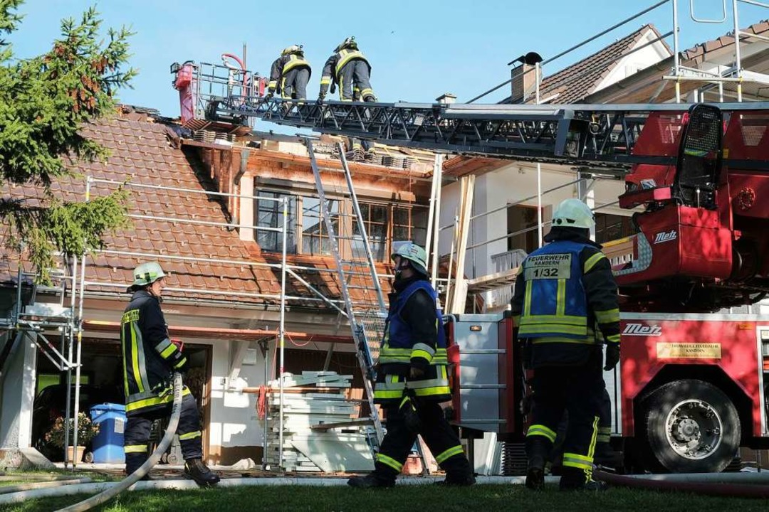 Das Feuer konnte durch die Einsatzkräfte  rasch gelöscht werden.  | Foto: Birgit-Cathrin Duval