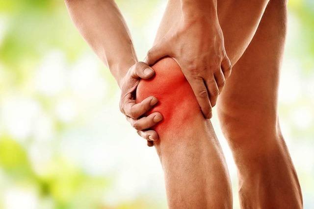 Leistungssportler und Übergewichtige haben erhöhtes Arthrose-Risiko