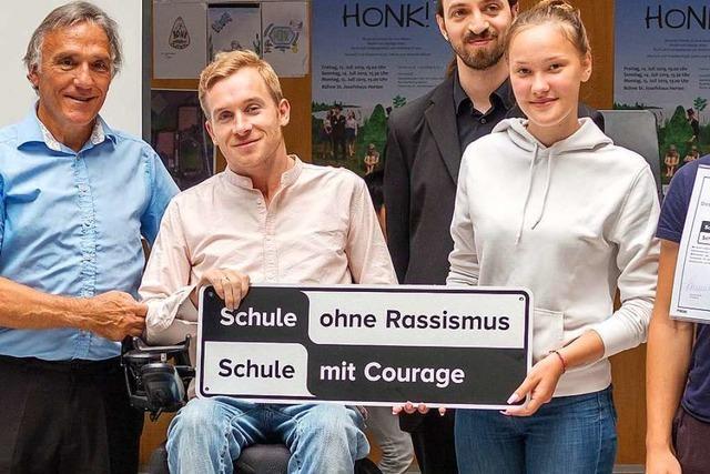 Samuel Koch macht bei der Verleihung der Landesauszeichnung mächtig Eindruck