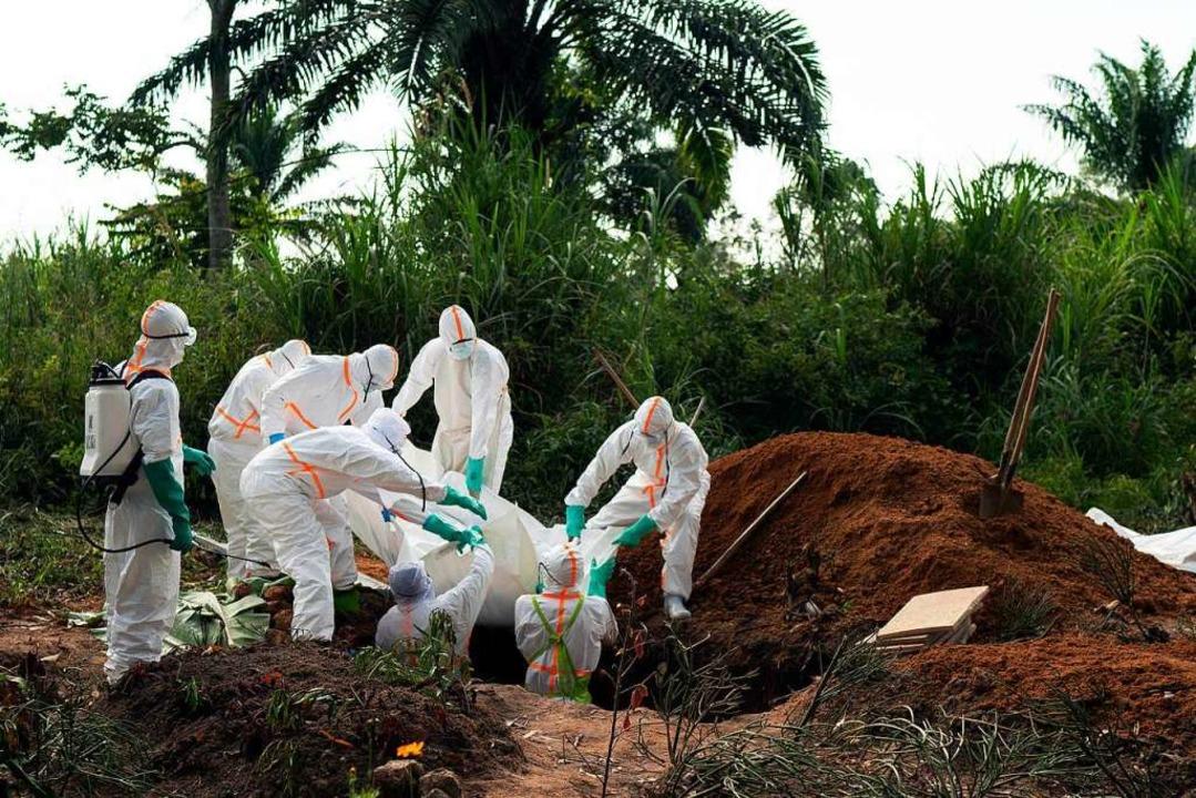 Ebola im Kongo  | Foto: Jerome Delay (dpa)