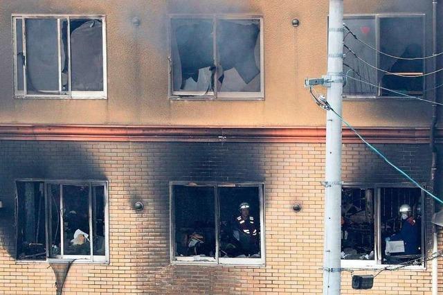 Filmstudio in Kyoto brennt aus – Feuerwehr befürchtet 23 Tote