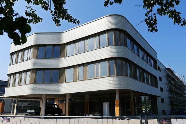 Arbeiten an neuer Beruflicher Schule in Bad Krozingen liegen im Zeitplan