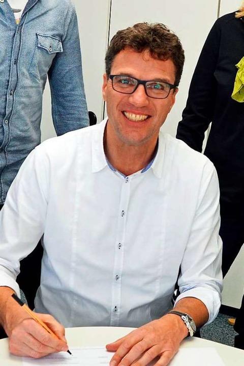 Ulrich Denzel ist Leiter der Realschule am Giersberg.  | Foto: Gerhard Lück