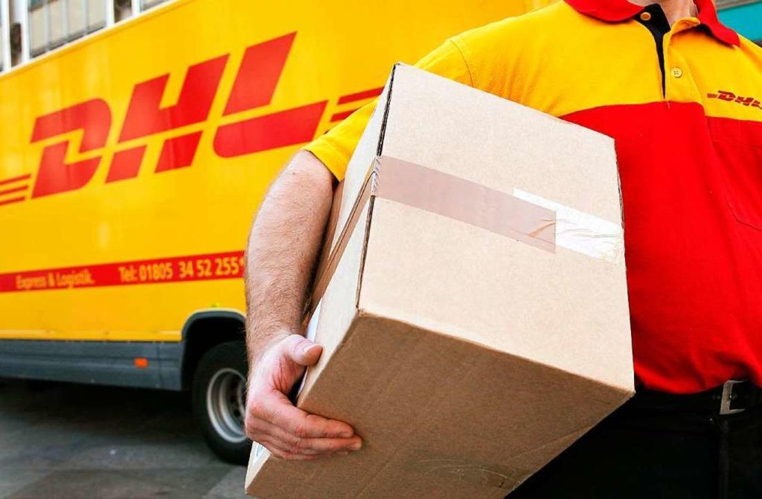 Mit einem DHL-Paket stellte die Polize...n in Duisburg eine Falle (Symbolfoto).  | Foto: A3250 Oliver Berg