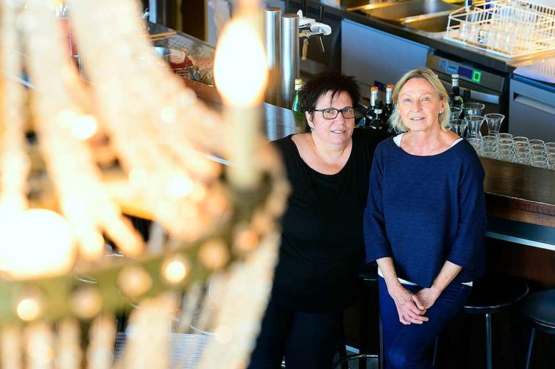 Maria Camino (links) und Michaela Steinwasser  | Foto: Ingo Schneider