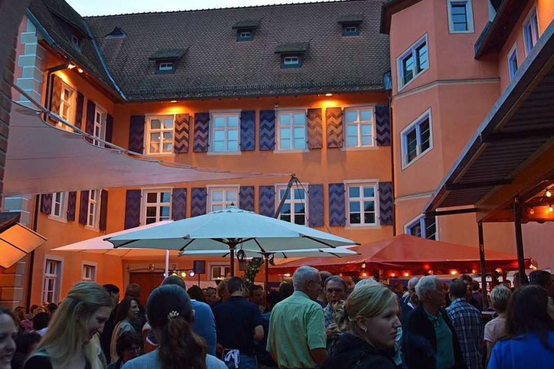 Zum siebten Mal wird am Wochenende Schlossfest gefeiert (Archivbild).  | Foto: Gerhard Lück