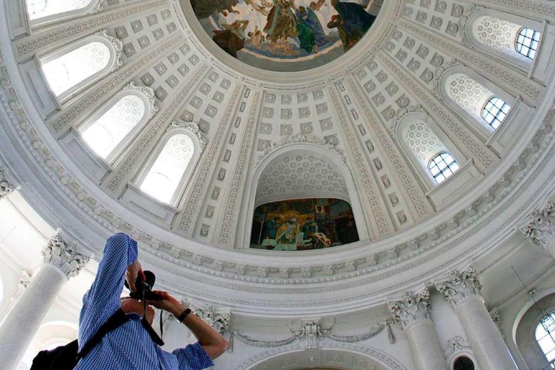 Die Kuppel des Doms in St. Blasien  | Foto: dpa