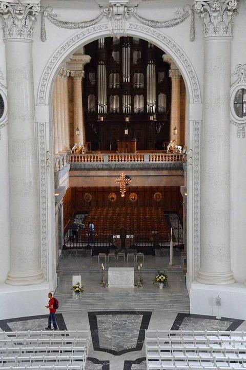 Die Orgel im Dom  | Foto: Sebastian Barthmes