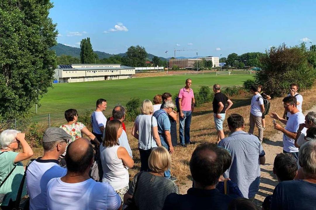 Das Stadion des Offenburger Fußball-Ve... Kinzig weg weiträumig zu verschieben.  | Foto: Helmut Seller