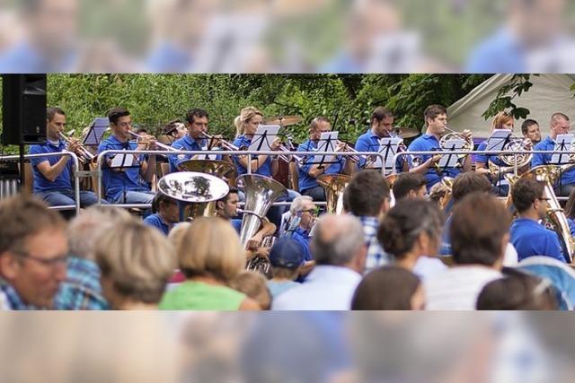 Endinger Stadtmusik lädt zu Open-Air-Konzert ein