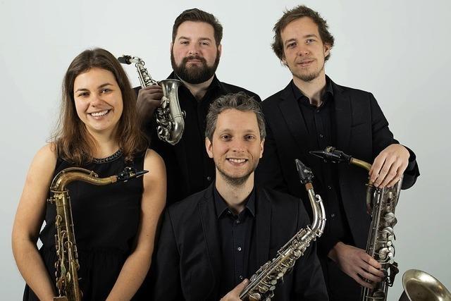 Bron Saxophonquartett gibt zwei Konzerte in Offenburg