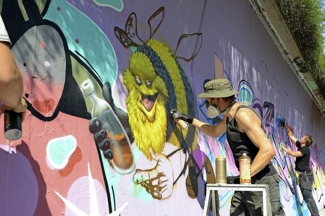 Der Dritte Summer-Graffiti-Jam steht vor der Tür